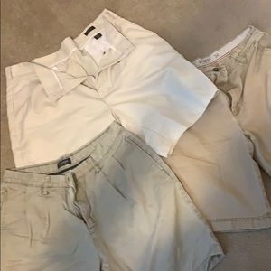 Izod and Nautica mens shorts.